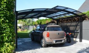 carport double aluminium